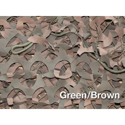 "6m X 3m RED CAMUFLAJE / SOMBRA ""CAMO SYSTEMS"" VERDE (18m2)"