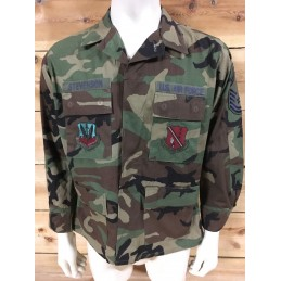 "CHAQUETILLA BDU WOODLAND ""US AIR FORCE""/PIEZA UNICA"