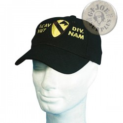 "GORRA BASEBALL VIETNAM TRIBUTE ""1st CAVALRY DIVISION"""