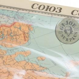 MAPAS DE LA UNION SOVIETICA PARA EDIFICIOS GUBERNAMENTALES y ESCUELAS NUEVOS DATADOS 1989