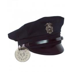 $$ ESPECIAL CARNAVAL!! GORRA PLATO POLICIA USA AZUL