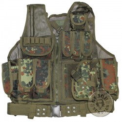 "CHALECO TACTICO ""USMC PRO"" COLOR FLECKTARN"