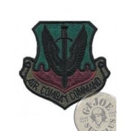 "PARCHE PECHO US AIR FORCE GENUINOS ""AIR COMBAT COMMAND"""