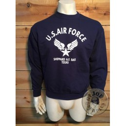 "SUDADERA ALGODON ""SHEPPARD AIRFORCE BASE"""