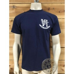 "CAMISETA M/CORTA ALGODON AZUL ""NAVY SEALS TEAM SIX THANK YOU"""