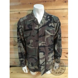 SPANISH ARMY MARINE CORPS BDU RIPSTOP WOODLAND JACKETS USED CONDITION