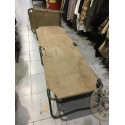 FRENCH ARMY CAMP BED USED CONDITION