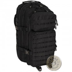 "TACTICAL MODULAR RUCKSACK ""MEDIUM 30 LITERS"" BLACK COLOUR"