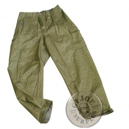 EAST GERMAN RAINDROP CAMO UNIFORM TROUSERS NEW CONDITION