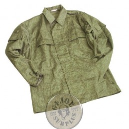 EAST GERMAN RAINDROP CAMO COMBAT JACKET NEW