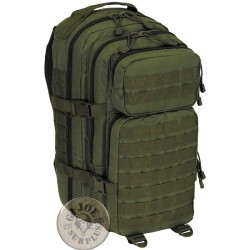 "MOTXILLA TACTICA ""MOLLE MEDIUM"" 30 LLITRES COLOR VERD"