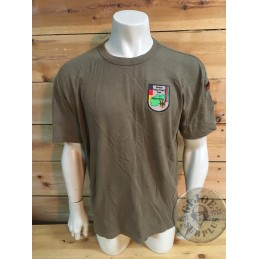 "GERMAN ARMY ""AFGHANISTAN POLICE SCHOOL MISSION"" SHIRT /COLLECTORS ITEM"