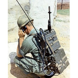 ARNES PER RADIO PRC25 US ARMY GUERRA DE VIETNAM NOUS