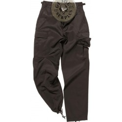 BDU CARGO TROUSERS BLACK