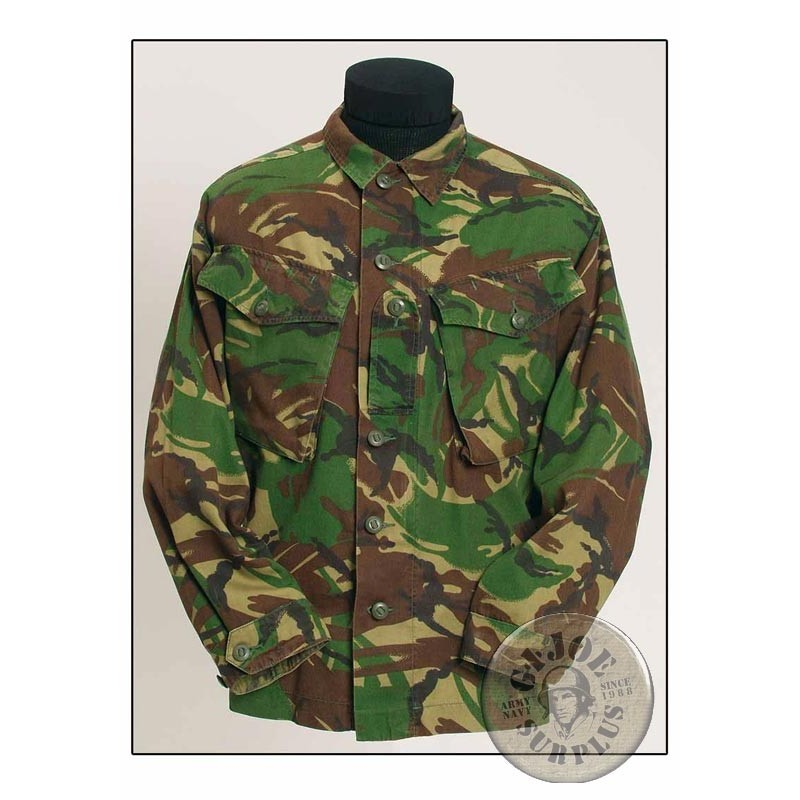 SALES OFFER!!! 5 BRITISH ARMY DPM CAMO 93/170 JACKETS IN USED PERFECT CONDITION