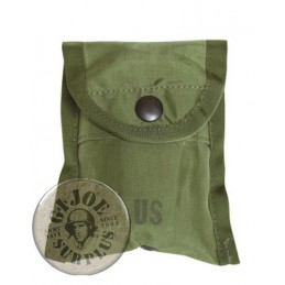 COMPASS AND FIRST AID POUCH AS NAM WAR MODEL NEW