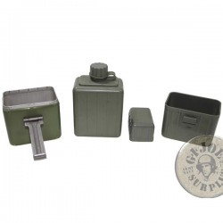 CANTEEN+CUPS SERBIAN ARMY NEW /AS NEW