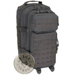 "MOCHILA TACTICA ""MOLLE MEDIUM BASIC"" 30 LITROS COLOR GRIS TITAN"