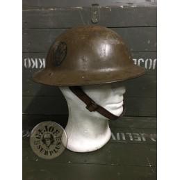 """CASCO M1917 1GM US ARMY """"89TH DIVISION"""" /PIEZA UNICA"""