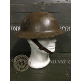 "M1917 WWI US ARMY  AEF ""89TH DIVISION"" HELMET /COLLECTORS ITEM"
