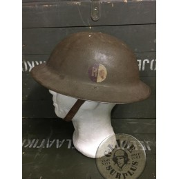 "M1917 WWI US ARMY  AEF ""HEADQUARTERS"" HELMET /COLLECTORS ITEM"