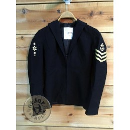 TOP ROYAL NAVY DECORADO SARGENTO MUJER /PIEZA UNICA