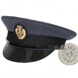 "GORRA PLATO OFICIALES y SUBOFICIALES ""RAF/ROYAL AIR FORCE"" USADAS"
