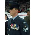 "GORRA PLATO OFICIALES ""RAF/ROYAL AIR FORCE"" USADAS"