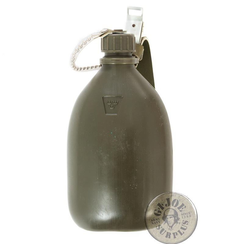 SWEADISH ARMY PVC CANTEEN NEW /AS NEW
