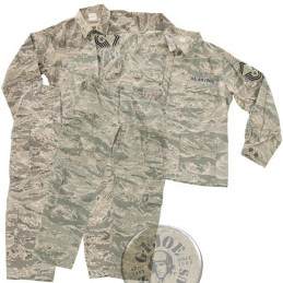 !!! SUPER PRECIO UNIFORME COMPLETO!!! SET CHAQUETILLA+PANTALON ABU CAMO US AIR FORCE USADOS