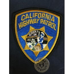 "PARCHE REPRO POLICIA USA ""CALIFORNIA HIGHWAY PATROL"""