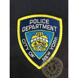"PARCHE REPRO POLICIA USA ""NEW YORK POLICE DEPARTMENT"""
