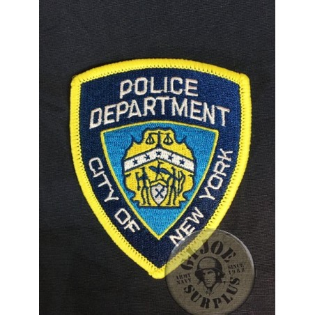 "US POLICE REPRODUCTION PATCHES ""NEW YORK POLICE DEPARTMENT"""