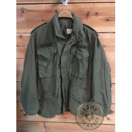 """M65 JACKET OLIVE 1st MODEL """"US ARMY EUROPE"""" SMALL SHORT"""