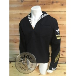 TOP MARINERO US NAVY CON PARCHES DE GALA USADOS