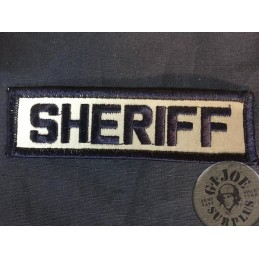 "POLICE REFLECTIVE  PATCH ""SHERIFF"""