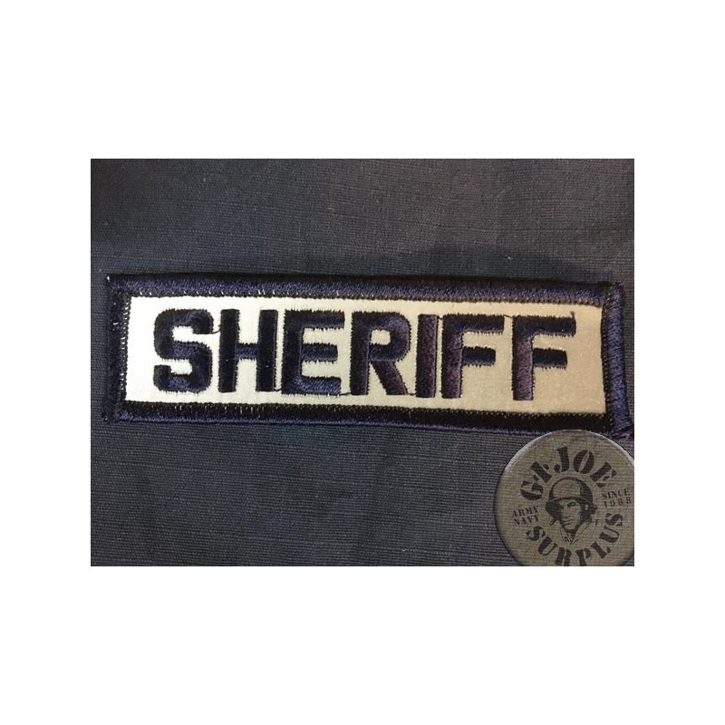 """PARCHE POLICIAL REFLECTANTE """"SHERIFF"""""""