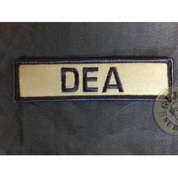 "POLICE REFLECTIVE  PATCH ""DEA"""