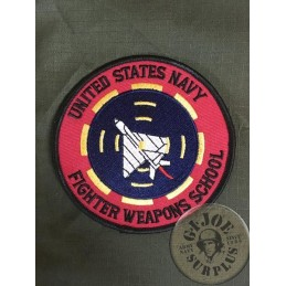 "PARCHE TOP GUN US NAVY ""FIGHTER WEAPONS SCHOOL"""