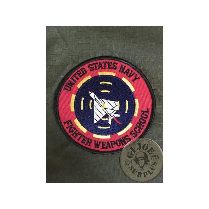 TOP GUN US NAVY PATCH FIGHTER WEAPONS SCHOOL