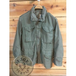 M65 JACKET OLIVE SMALL REGULAR ALPHA MADE IN USA