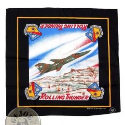 "PAÑUELO ""VIETNAM WAR COLLECTION"" F-111 OVER NORTH VIETNAM 1968"