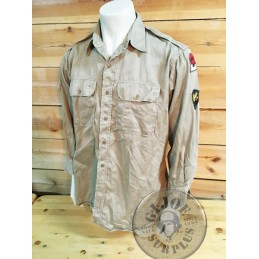 "CAMISA M/LARGA KHAKI UNIFORM ""2on ARMY"" / PIEZA ÚNICA"