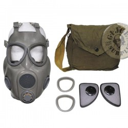 "GAS MASK  ""M10""  AS NEW COMPLETE SET"