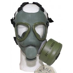 "GAS MASK SERBIAN ARMY ""M1"" AS NEW"
