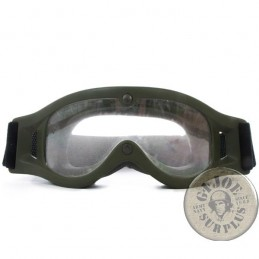 "DUTCH AND FRENCH ARMY COMBAT GOGGLES ""BOLLE DEFENDER"" USED CONDITION"