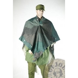 SWEADISH ARMY CAMO PONCHO USED