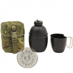 BRITISH ARMY SET CANTEEN+CUP+MOLLE POUCH MTP CAMO