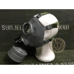 "GAS MASK CZECH ARMY ""CM3"" LARGE SIZES AS NEW COMPLETE"