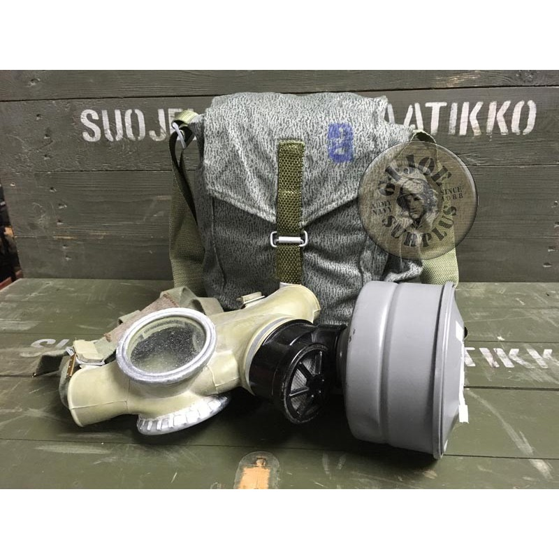 "GAS MASK CZECH ARMY ""CM3"" AS NEW COMPLETE"